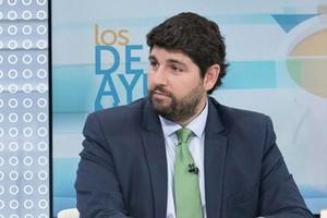 El candidato del PP a presidente de Murcia, Fernando LópezMiras.