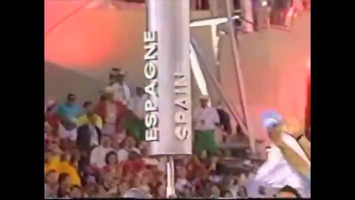 Los JJ.OO de Barcelona '92. Ceremonia inaugural.