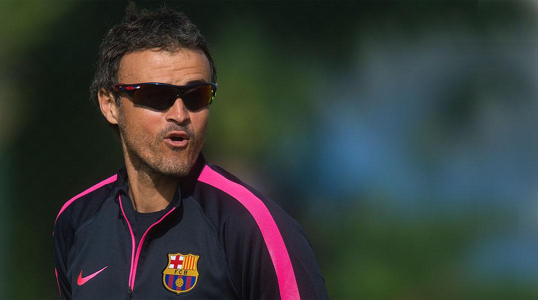 Lentrenador del Barça explica per què no va substituir Messi contra lEibar.