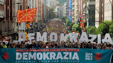 Euskadi, un 'procés' con el freno de mano