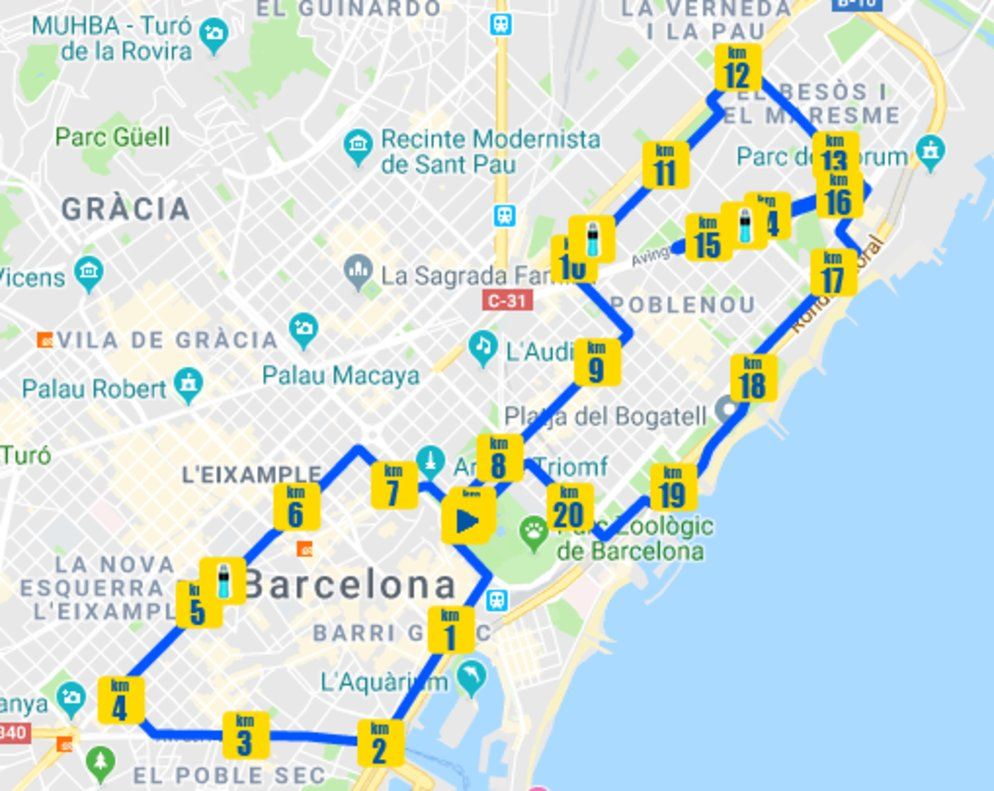 media maraton madrid 2020 recorrido