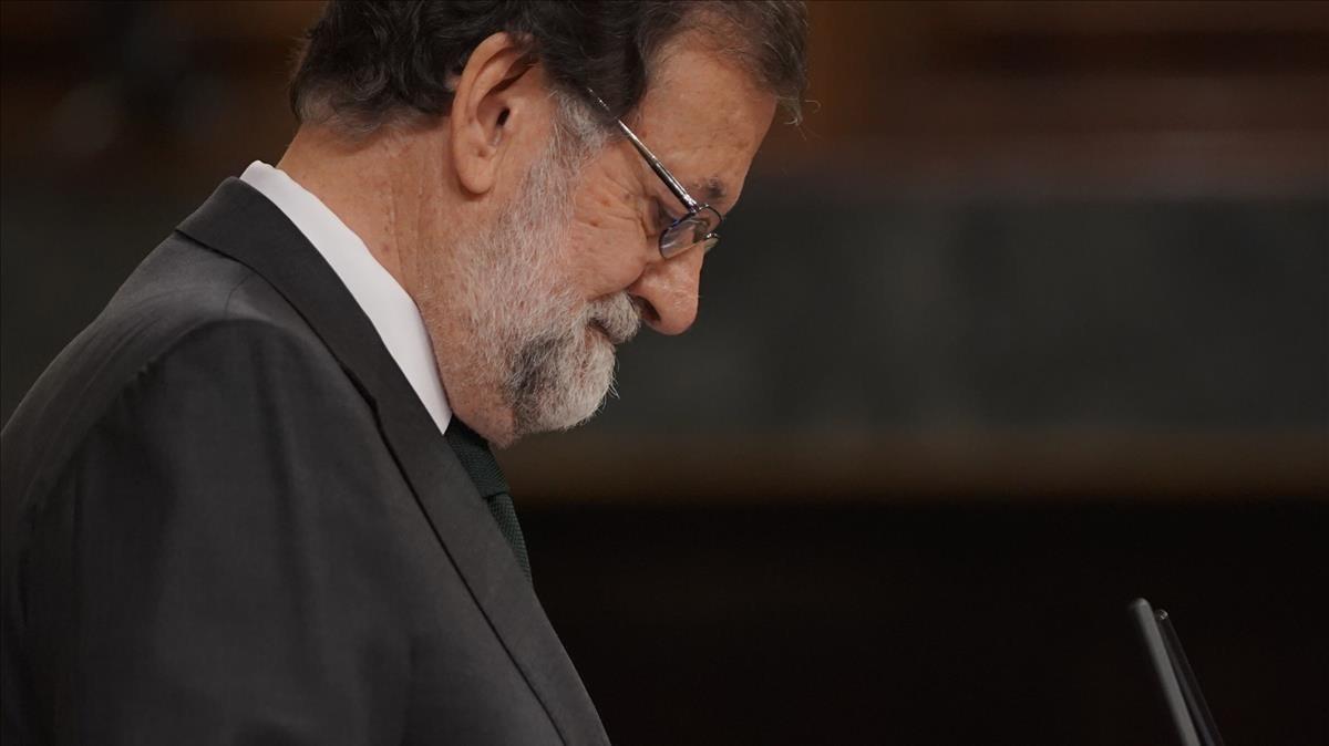 El expresidente Mariano Rajoy.