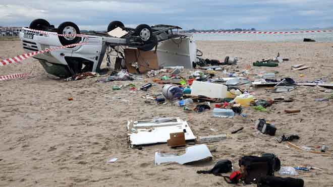 Al menos seis muertos y decenas de heridos por el temporal en Grecia.