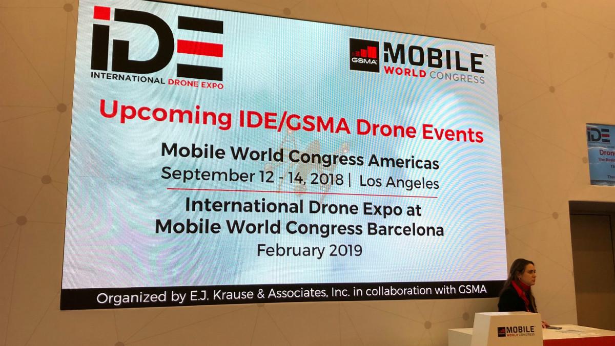 La primera imagen oficial que confirma la celebración de la próxima edición del MobileWorld Congress en Barcelona.