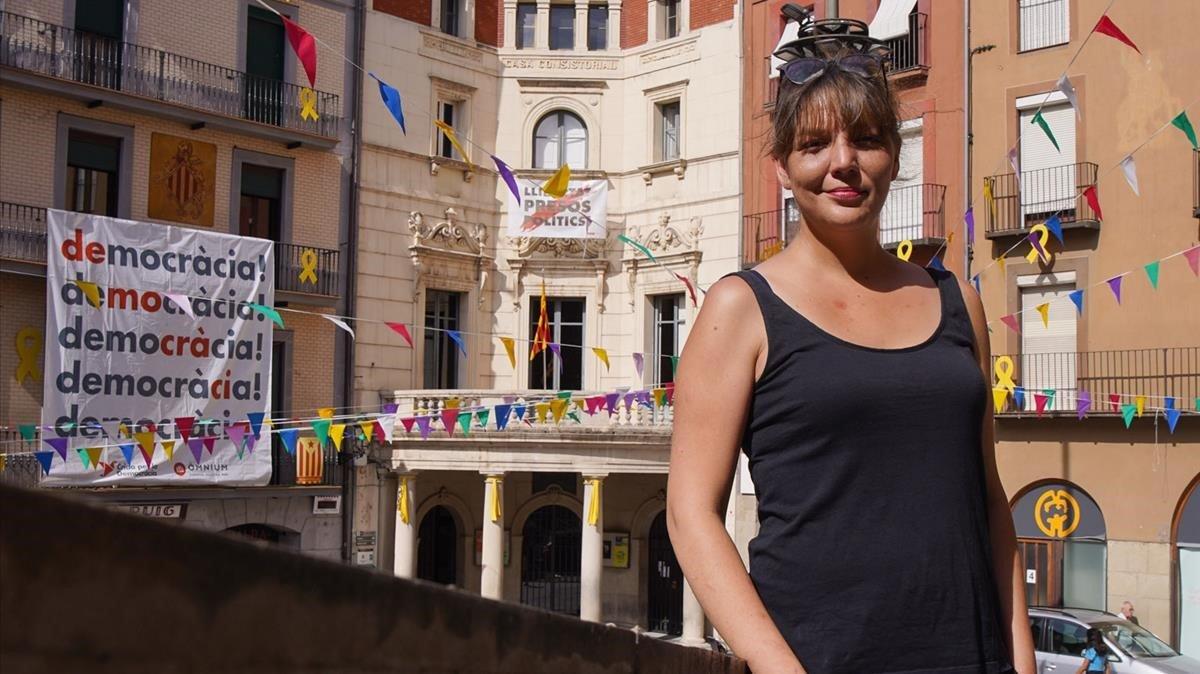 Montserrat Venturós, alcaldesa de Berga.