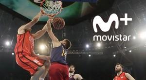 Movistar+ renueva los derechos de emisión de las competiciones ACB.