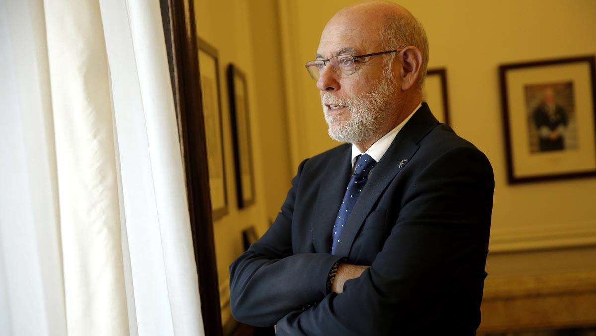 El jefe del ministerio público había sido ingresado por una infección renal durante una visita a Buenos Aires.