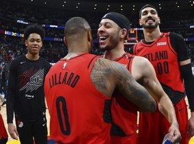 Los Trail Blazers de Portland a la final de laConferencia Oeste. AP