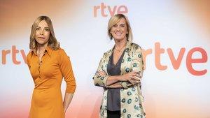 Tània Sarrias i Gemma Nierga, dues de les apostes de RTVE a Catalunya