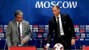 Parreira y Van Basten, en la comisión de estudio técnico de la FIFA.