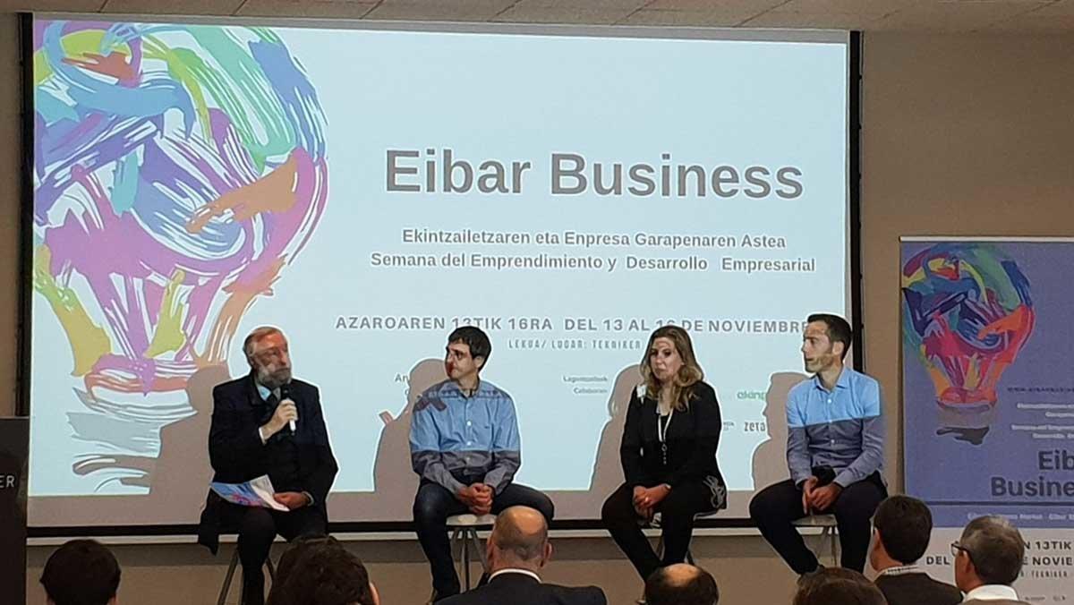 Participantes en la anterior edición del foro Eibar Business Market.