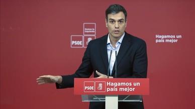 """Sánchez pide al PDECat y a ERC que se """"independicen"""" de Puigdemont"""