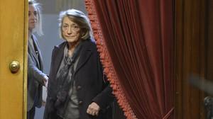 Teresa Crespo,presidenta deEntitats Catalanes d'Acció Socialy portavoz de la plataformaPobresa Zero.