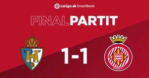 El Girona puntúa por cuarta jornada consecutiva