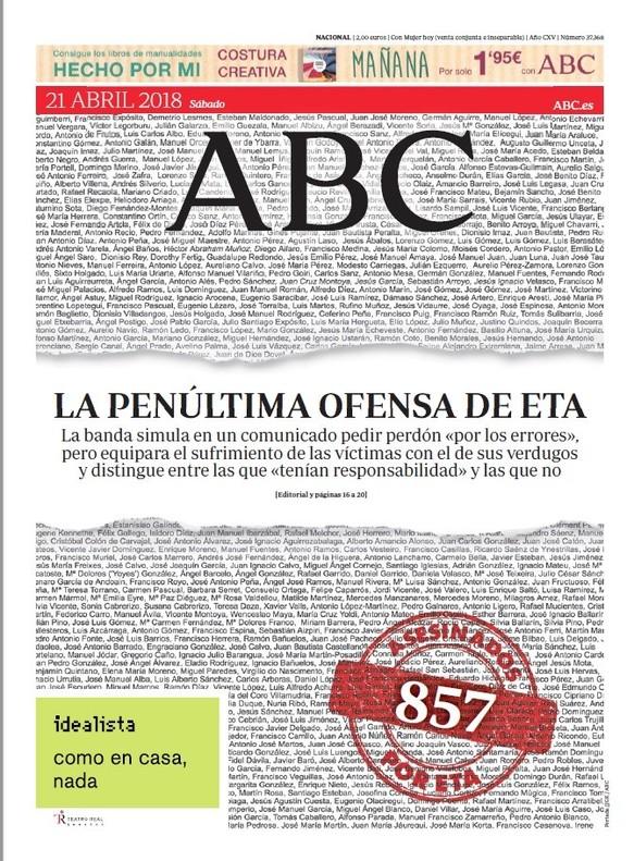 """""""A Urdangarin no se le puede salvar, ni se debe hacerlo"""", titula 'El Mundo'"""