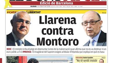 De Llarena contra Montoro, del vacío de la izquierda y del momento Errejón