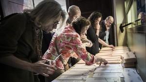 La participació en les eleccions catalanes s'estanca al llindar del 80%