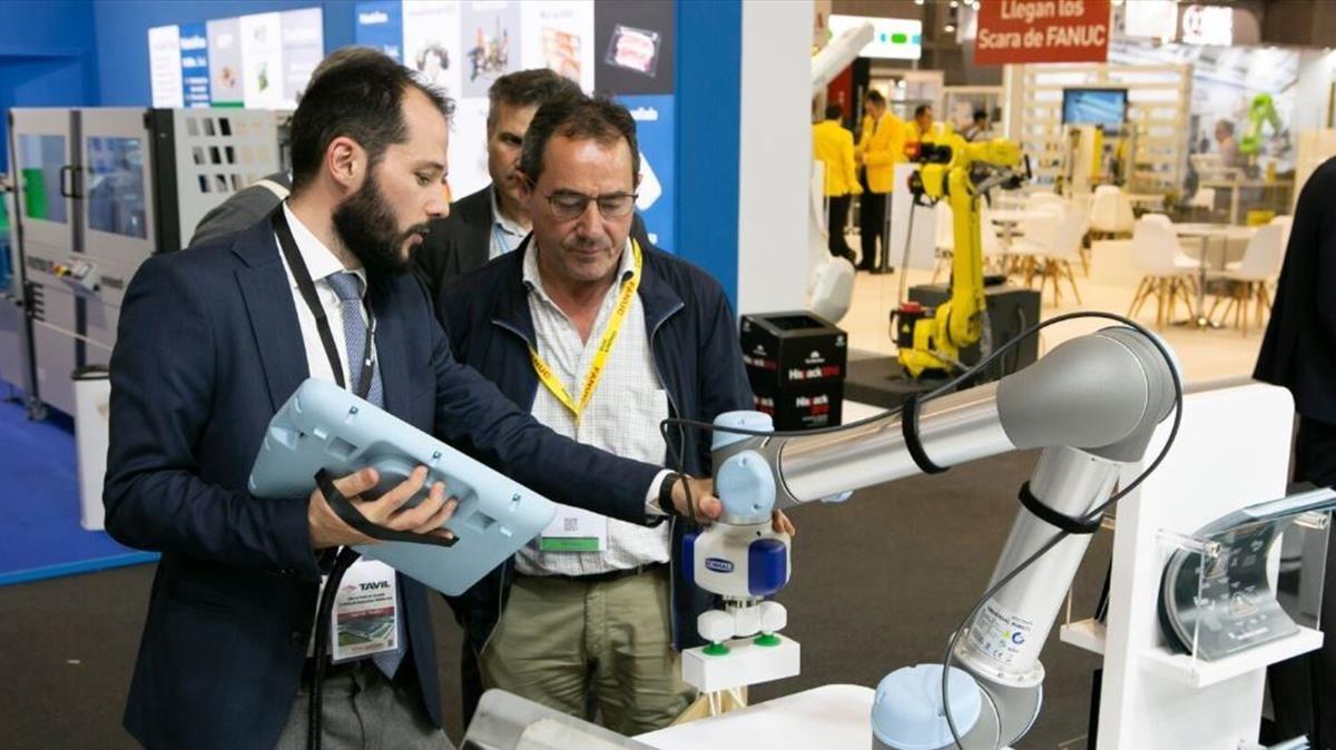 La robótica irrumpe también en la Fira de Barcelona en los salones Hispack y Foodtech Barcelona.