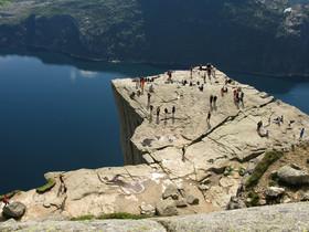 La Roca del Púlpito, la gran atracción turística de Noruega.