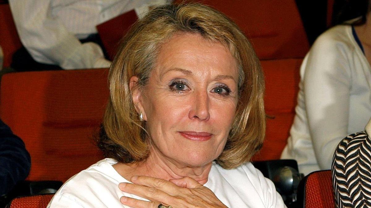 La administradora provisional de RTVE, Rosa María Mateo.