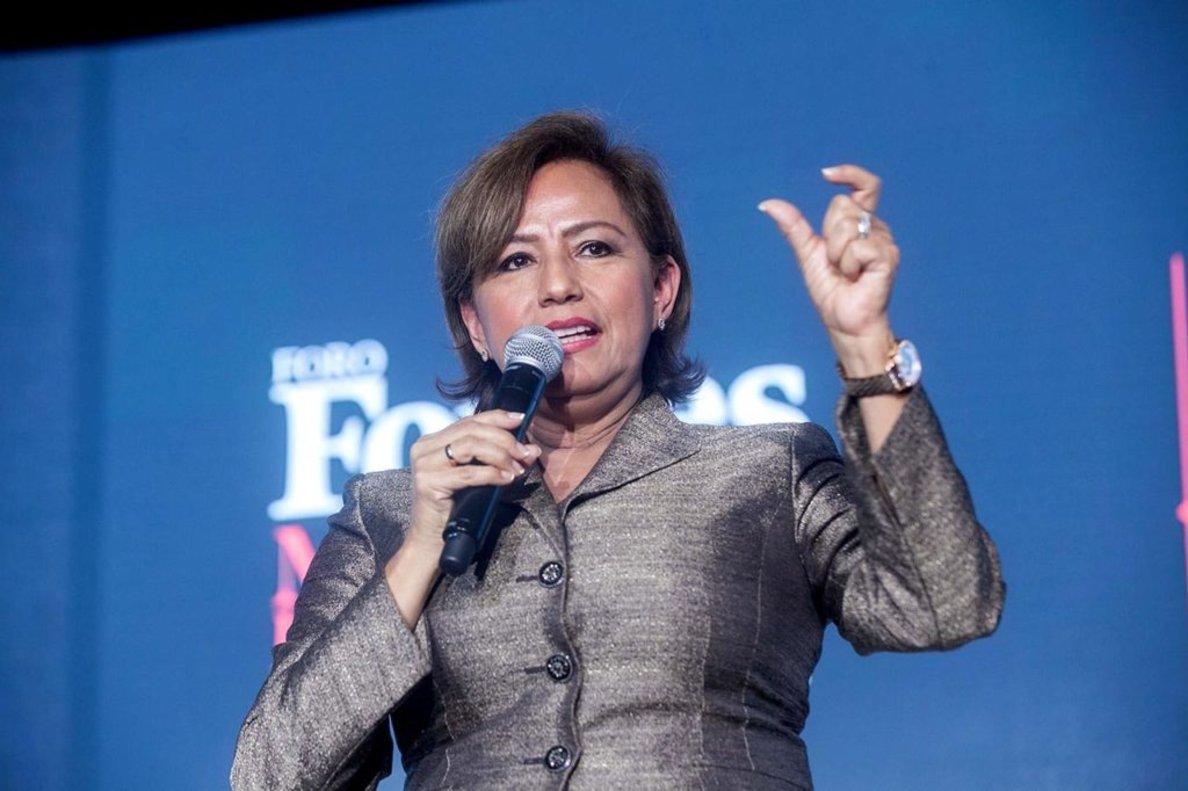 L'extresorera dels Estats Units Rosario Marín inaugura la desena edició del Cornellà Creació