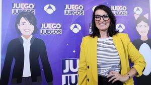 Silvia Abril, presentadora de Juego de Juegos.
