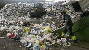 Planta de tratamiento de residuos en Gavà.
