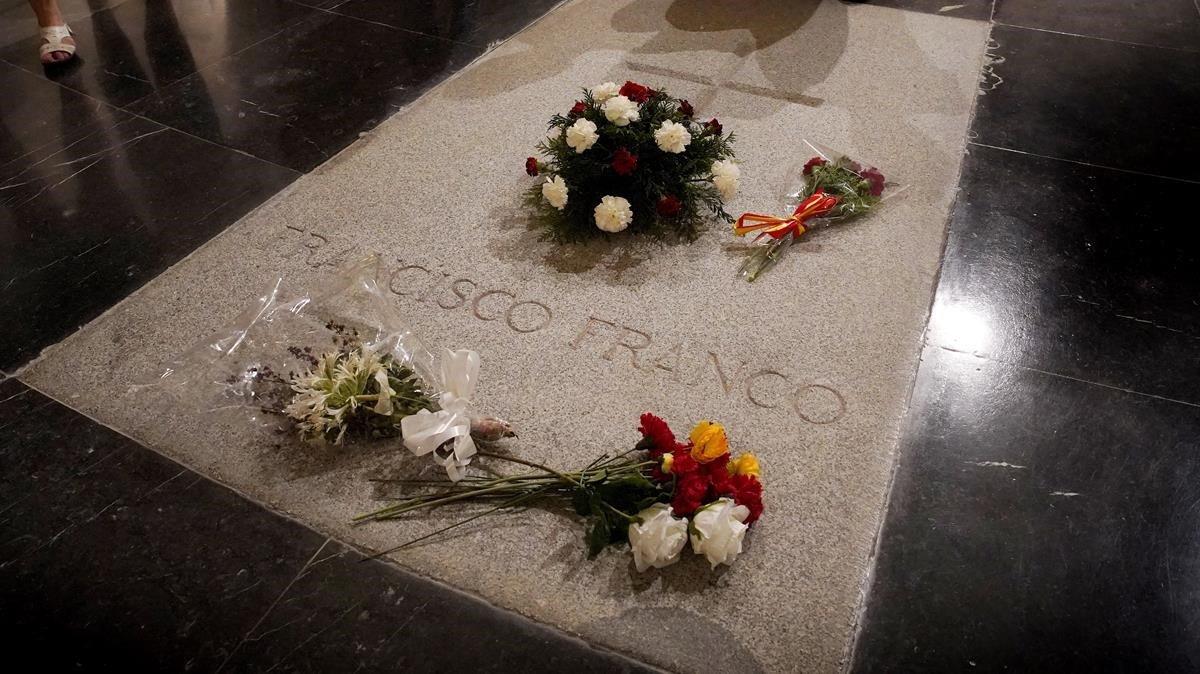 Tumba de Francisco Franco en el Valle de los Caídos.