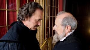 Jose Coronado y Emilio Gutiérrez Caba, en el telefilme de TVE 'Cervantes contra Lope', que abre el Festival Zoom de televisión.