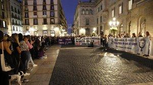 Manifestacions a tot Espanya per la sentència a 'La manada' de Manresa
