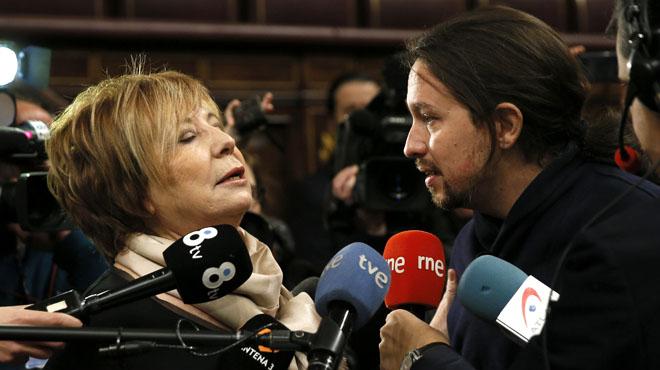 """Villalobos: """"Me jode que digas que mi partido es corrupto"""", le ha dicho a Iglesias"""