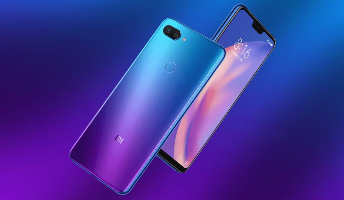 Xiaomi mi8 lite azul
