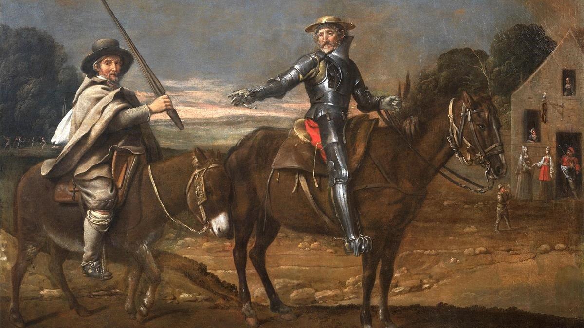Don Quijote y los bancos