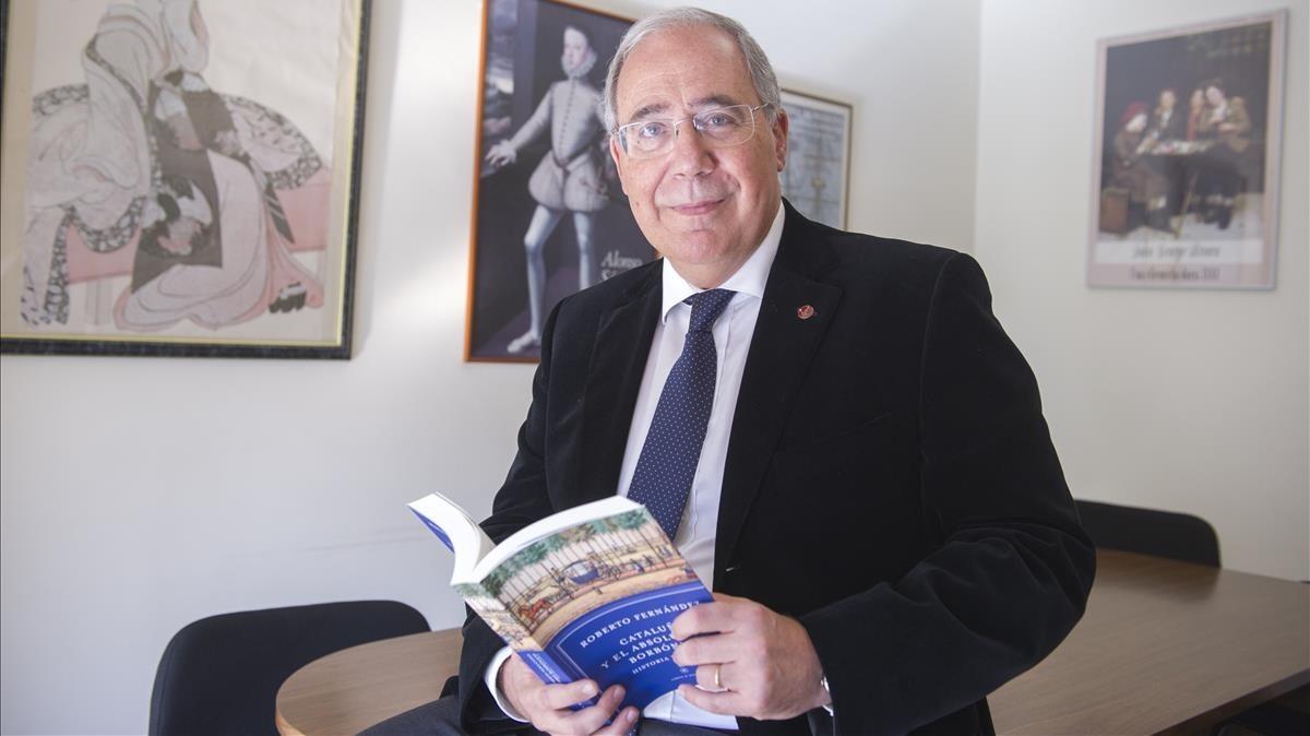Roberto Fernández, rector de la Universitat de Lleida.