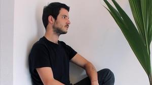 El joven diseñador Daniel Rosa.