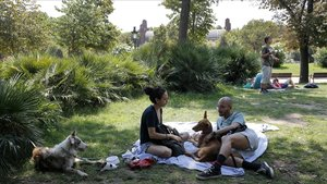 El Parque de la Ciutadella, unimprescindible para los picnicsen Barcelona.