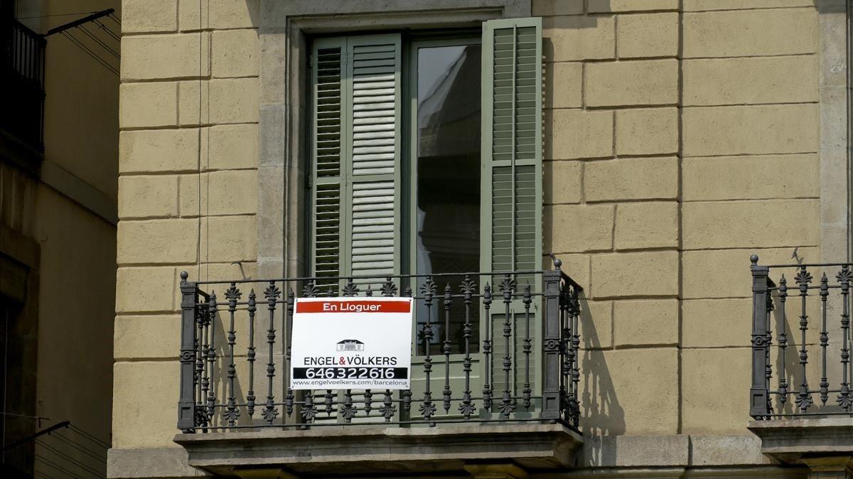 Barcelona cada dia m s cara for Busco piso en alquiler
