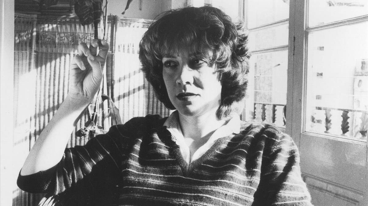 Montserrat Roig, en una imagen de archivo.