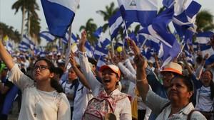Las protestas en Nicaragua crecen y mantienen en jaque a Ortega