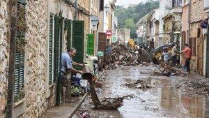 Els danys materials per les inundacions a les Balears ascendeixen a 91 milions d'euros