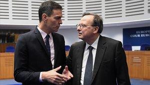 """Sánchez carrega a Estrasburg contra les """"fake news"""" del procés"""