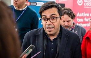 El teniente de Alcalde de Barcelona y diputado en el Congreso, Gerardo Pisarello