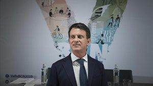 El alcaldable de Barcelona pel Canvi - Ciutadans, Manuel Valls.