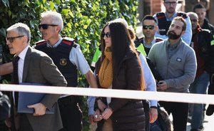 El jurado del crimen de la Urbana visita la casa de Rosa Peral.
