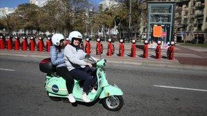 Barcelona es conjura per ordenar aquest any tota la mobilitat compartida