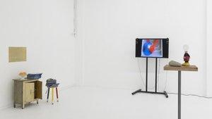 Una pieza de la exposición de Carlos Pazos en ADN.