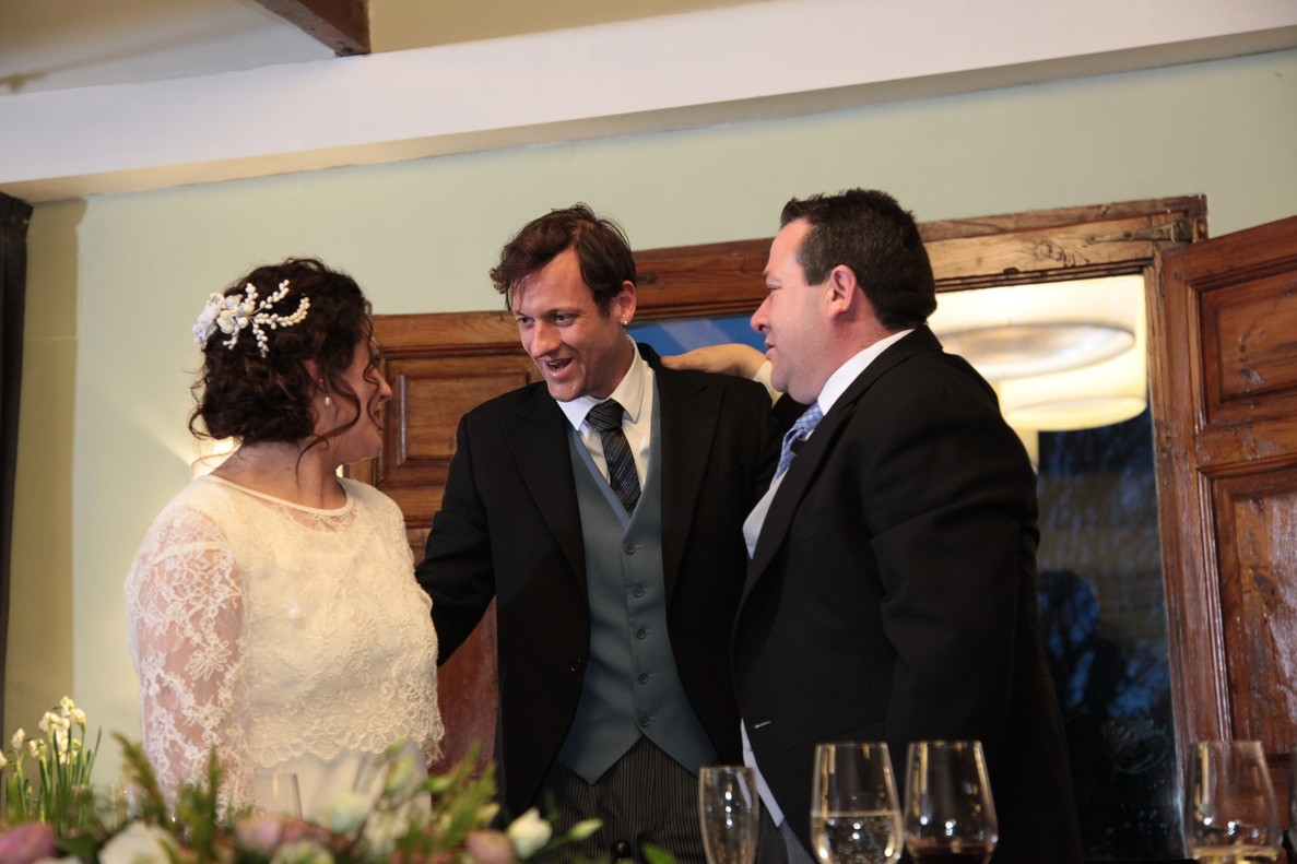 Edu Soto, en la boda de este sábado en 'El árbol de los deseos'