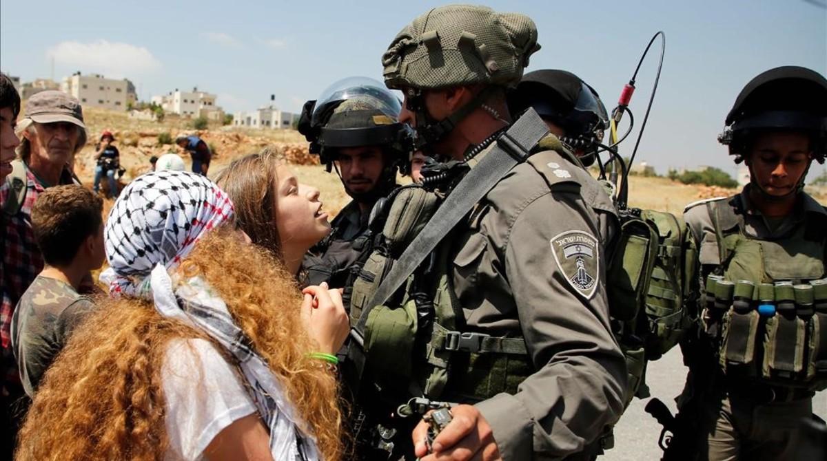 ahed tamimi activista palestina