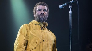 Liam Gallagher, en el concierto que ofreció el sabado 24 en Razzmatazz