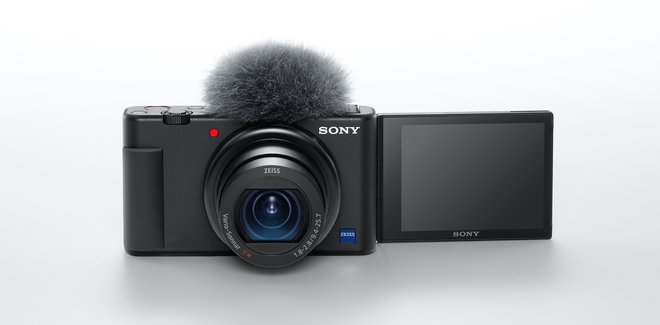 Sony lanza una cámara especializada para creadores de contenidos